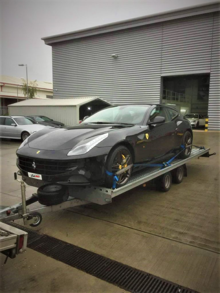 East Autos LTD Transporting Ferrari FF